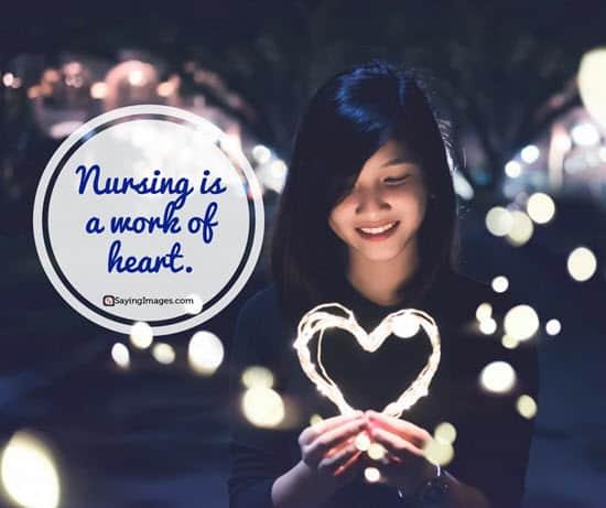 short nursing quotes