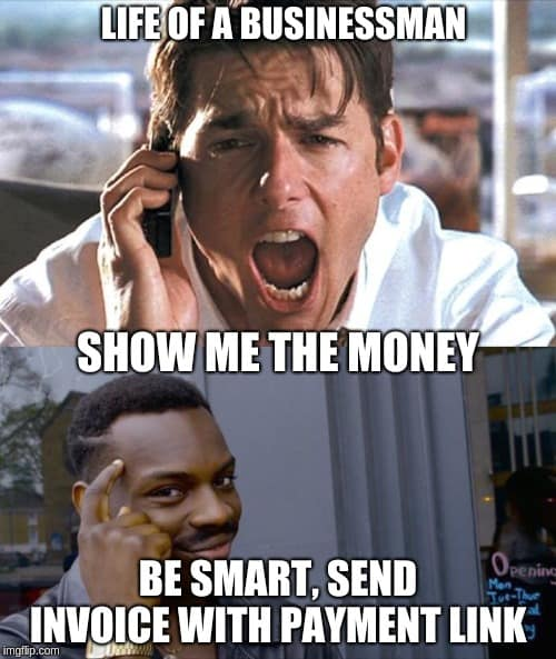 show me the money life of a businessman meme