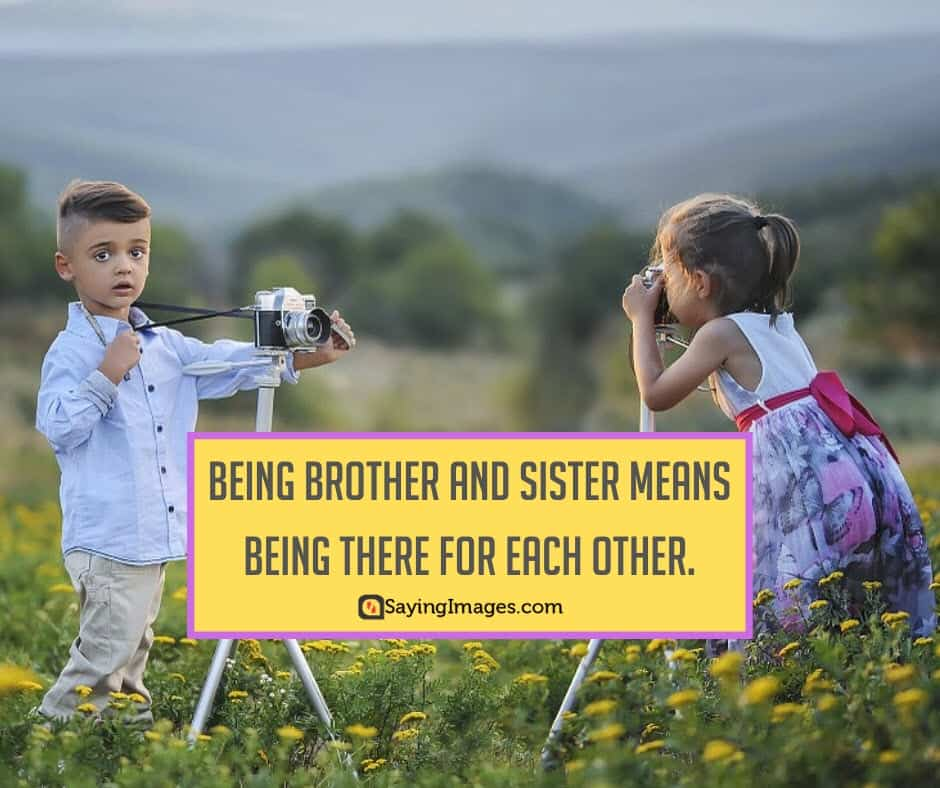 siblings brother sister quotes