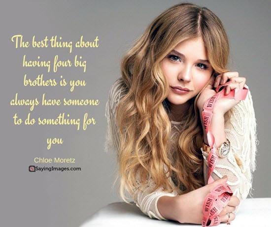 siblings quote chloe moretz