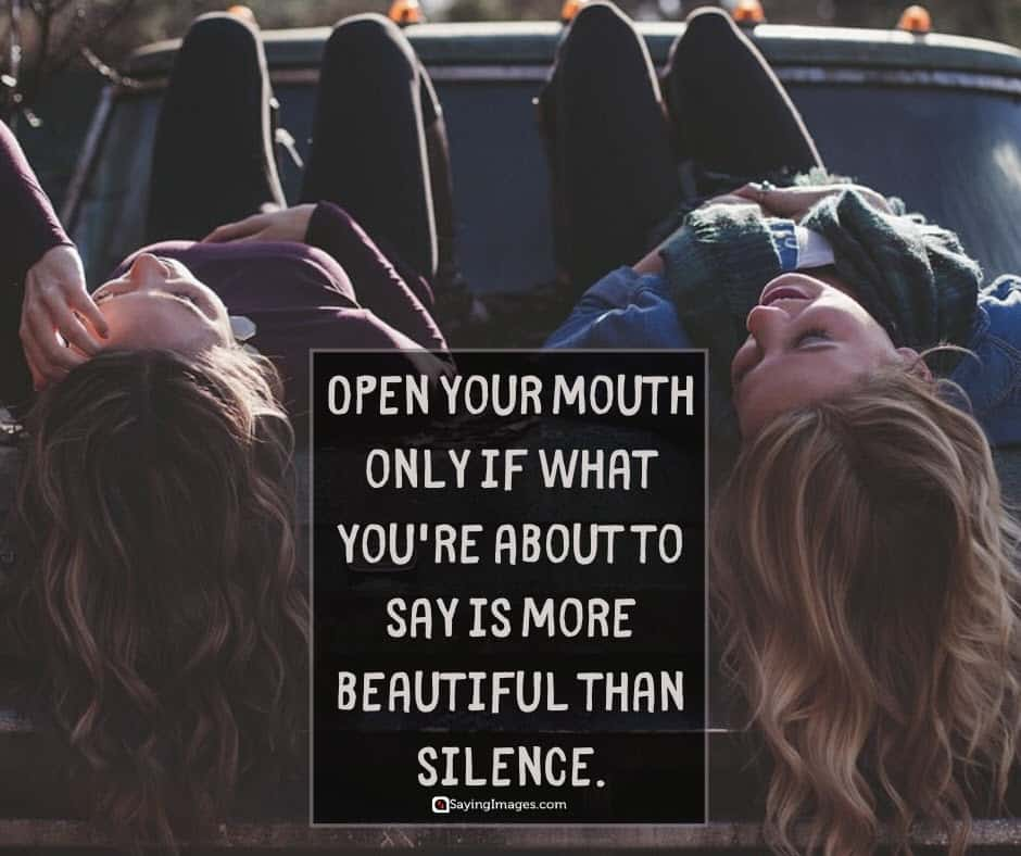 silence beautiful quotes