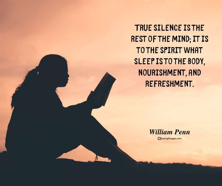 silence mind quotes