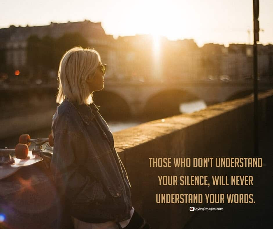 silence understand quotes