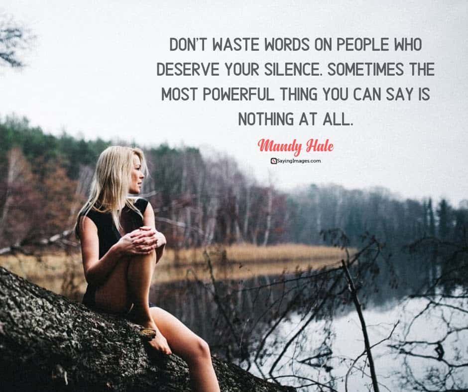 silence words quotes