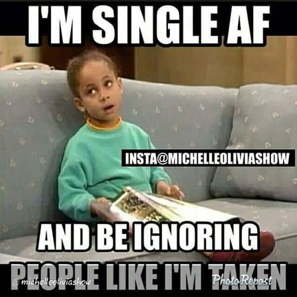 single af meme