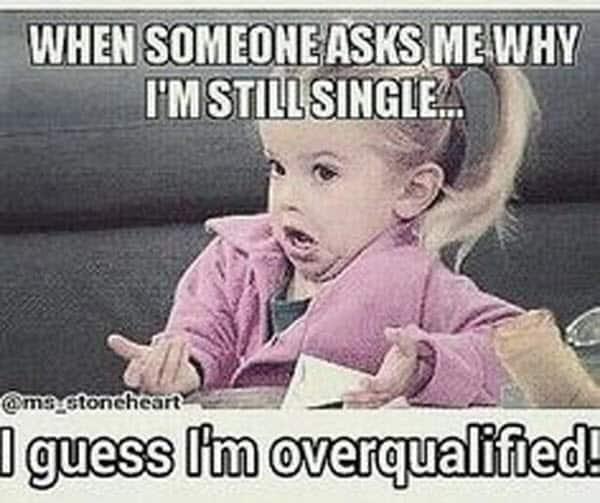 single when someone asks meme