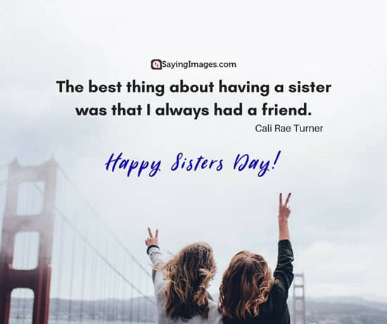 sisters day quote