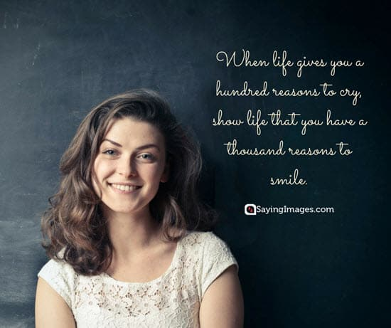 smile life quotes