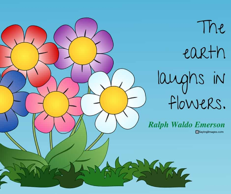 spring earth quotes