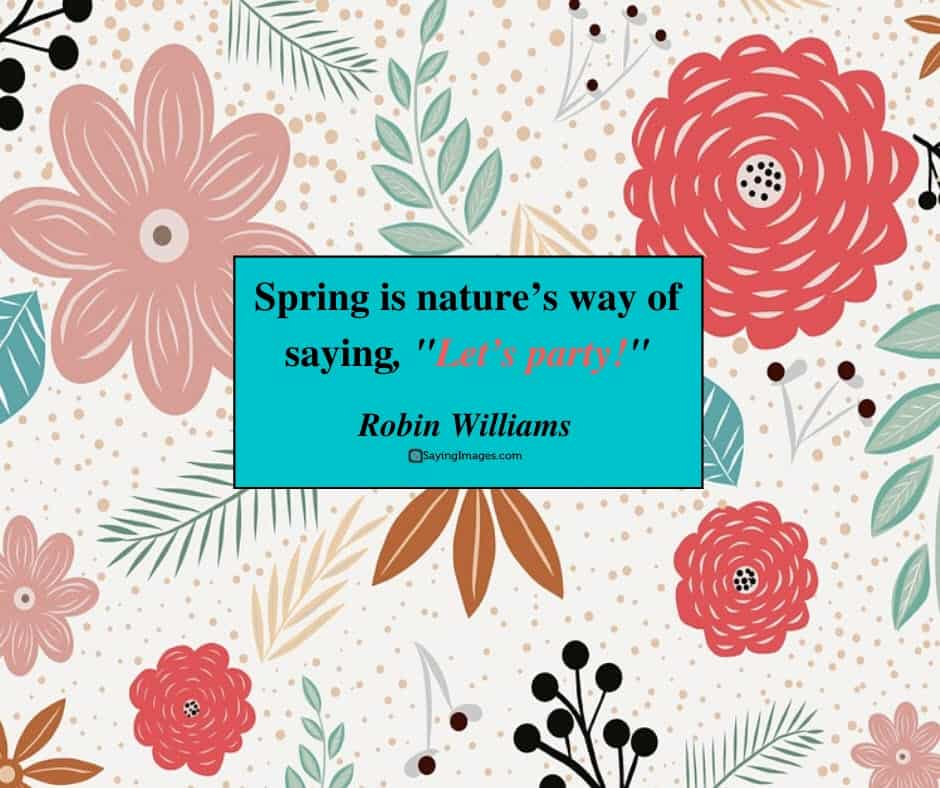 spring nature quotes