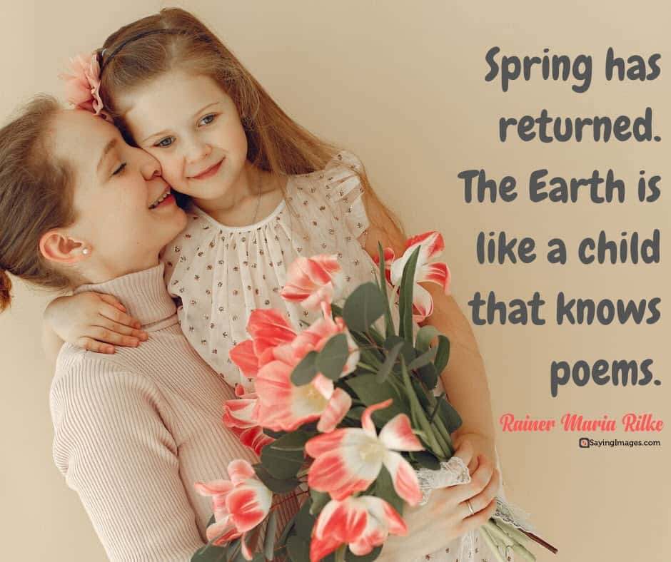 spring poems quotes