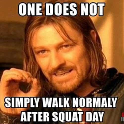 squat day meme