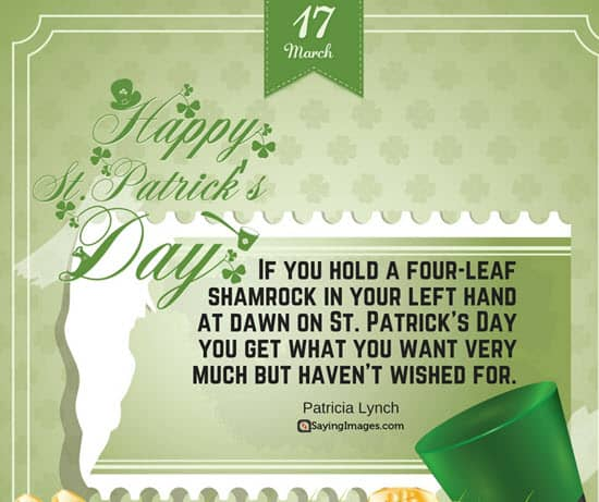 st patrick sayings quotes