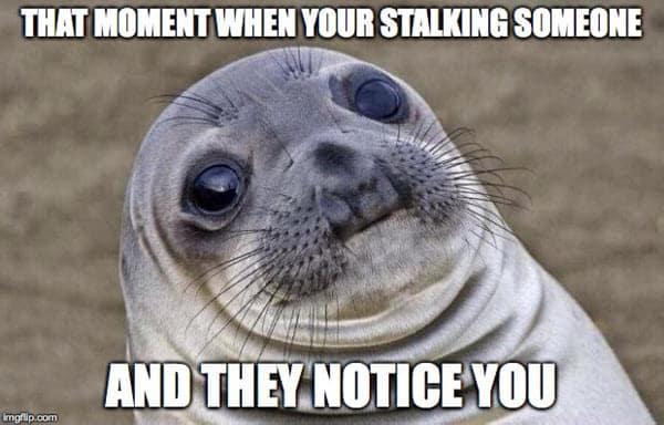 stalking that moment meme
