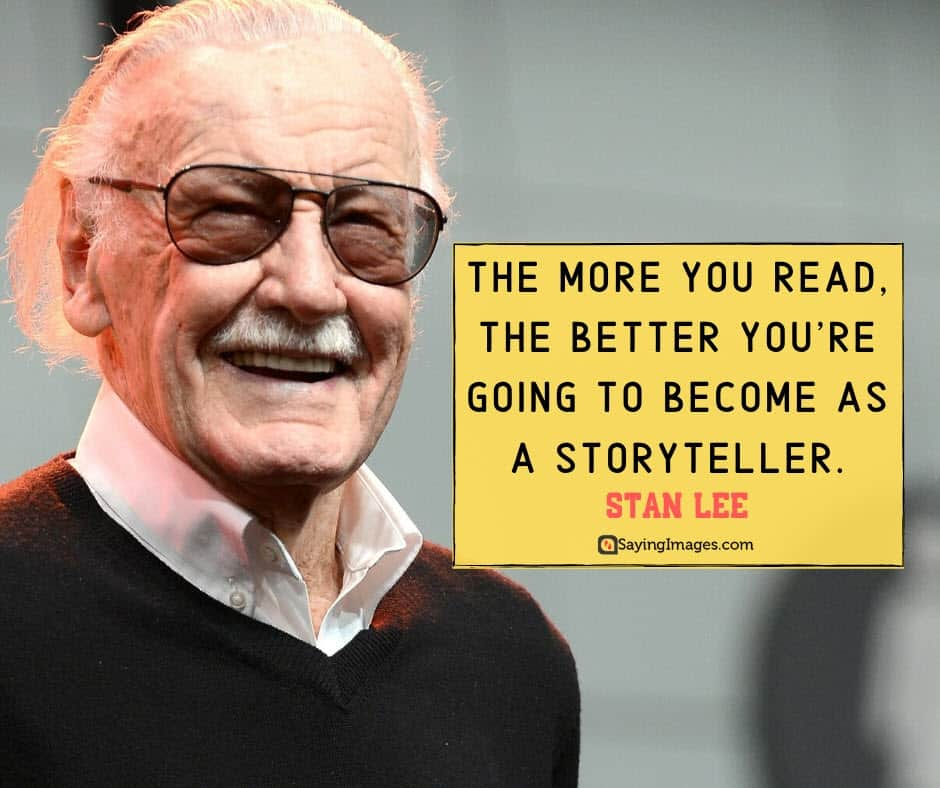 stan lee storyteller quotes