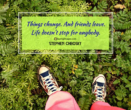 stephen chbosky change quotes