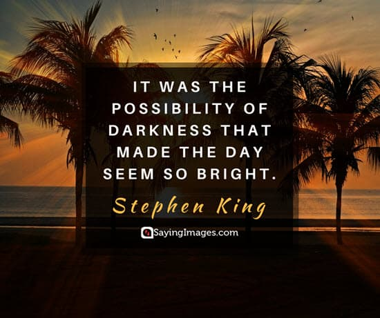 stephen king dark quotes