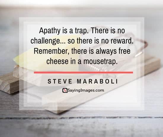steve maraboli apathy quotes