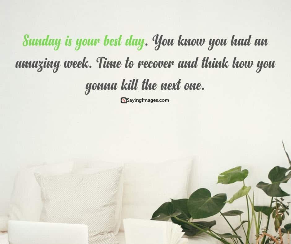 sunday amazing quotes