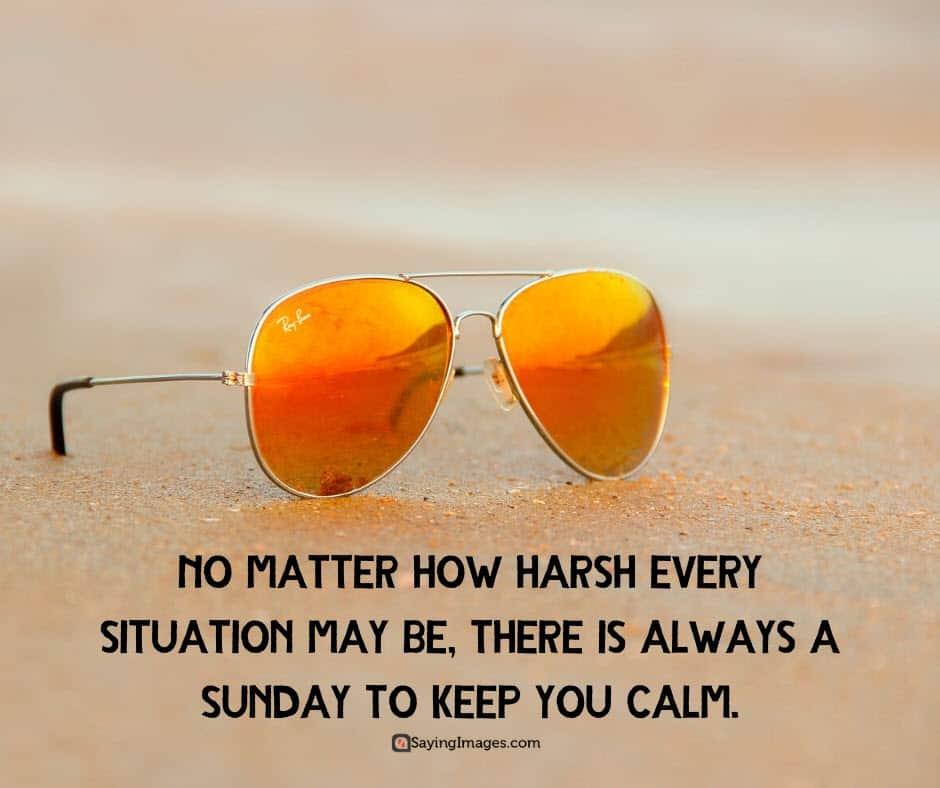 sunday calm quotes