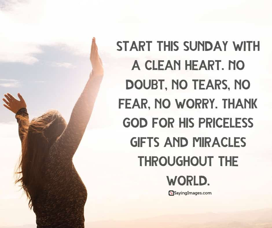 sunday heart quotes
