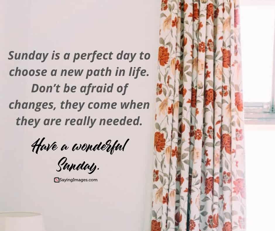 sunday path quotes