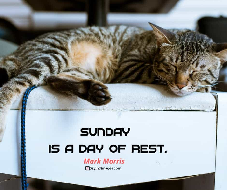 sunday rest quotes