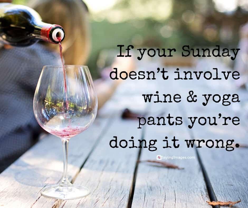 sunday wine quotes
