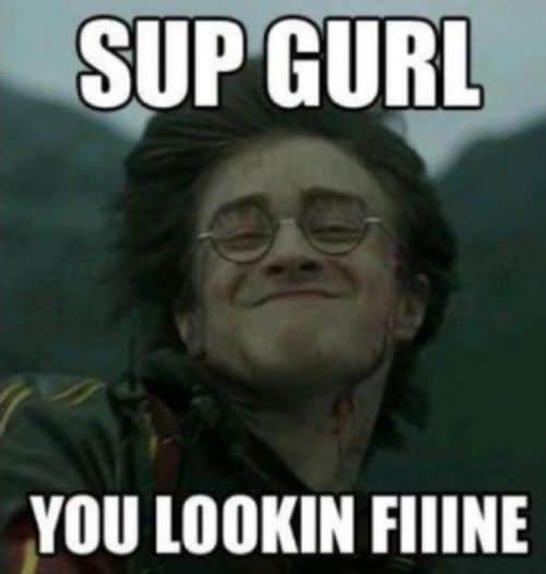 flirting memes to men funny face pictures