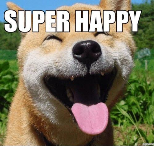 super happy memes