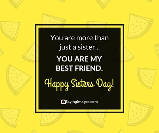 sweet sister quotes
