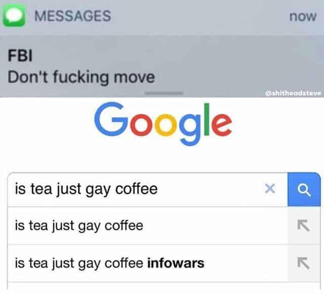 tea fbi agent meme