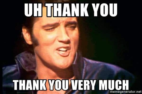 Image result for memes for thank you