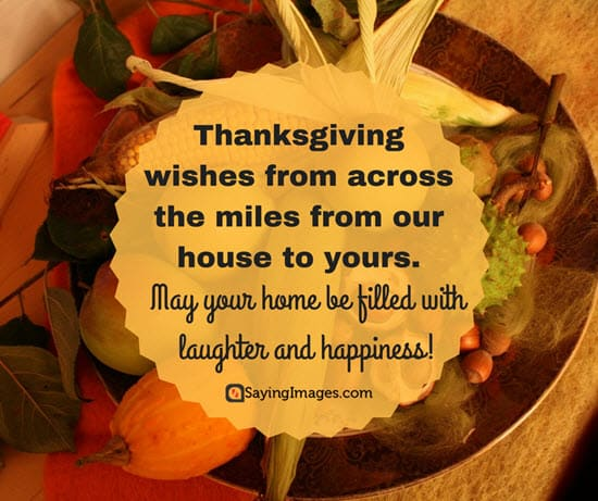 Best Thanksgiving Wishes, Messages & Greetings 2017