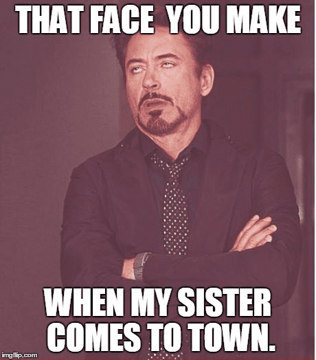 20 Totally Funny Sister Memes We Can All Relate To Sayingimagescom