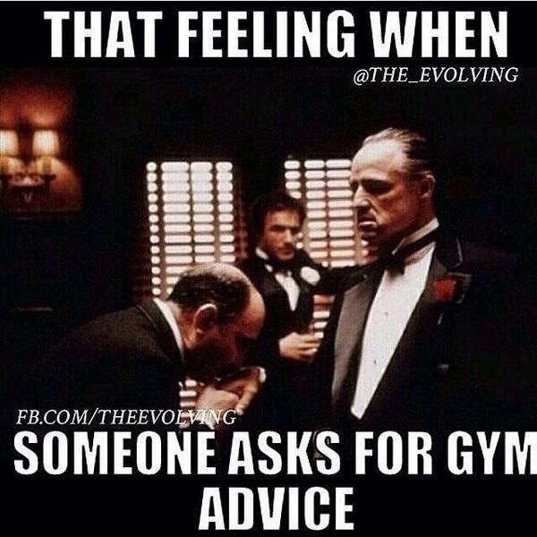 that feeling when someone asks for gym advice godfather meme the 20 best godfather memes of all time sayingimages com
