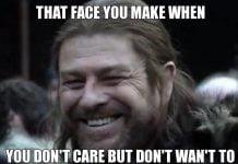 don t care meme