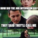 job interview meme