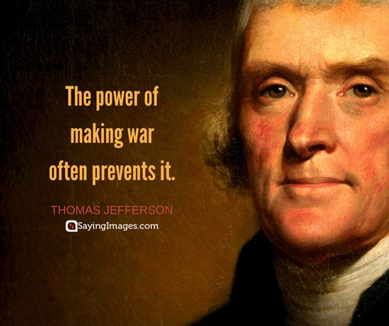 thomas jefferson war quotes