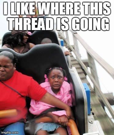 thread rollercoaster meme