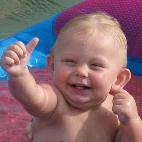 thumbs up baby meme