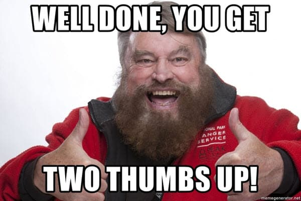 thumbs up well done meme