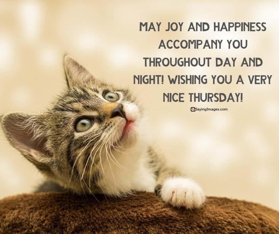 thursday joy quotes