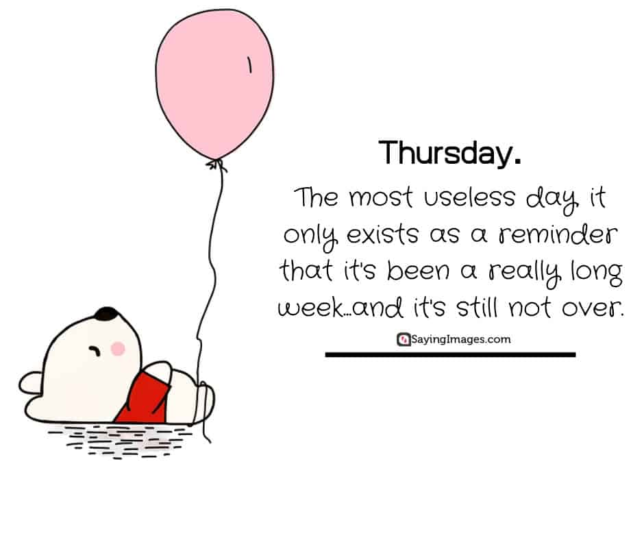 thursday reminder quotes