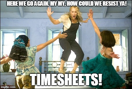 time sheets mamamia meme