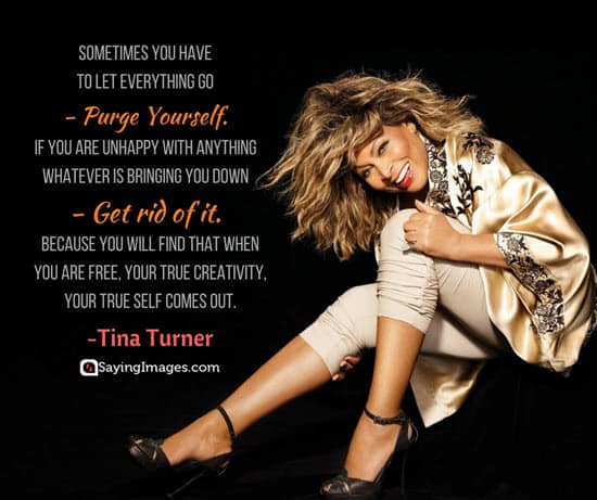 tina turner unhappy quotes