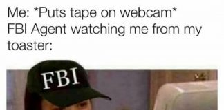 toaster fbi agent meme