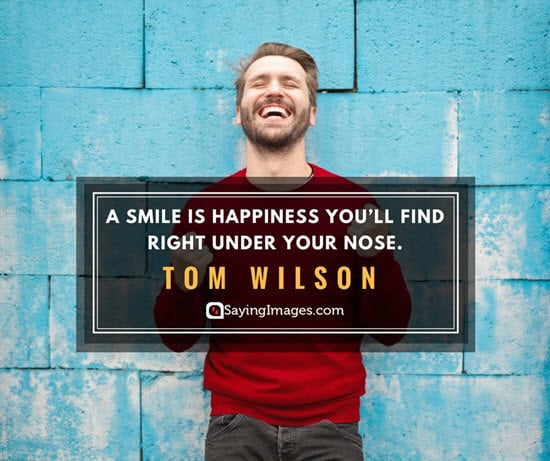 tom wilson smile quotes