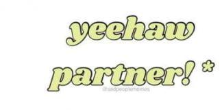 translation yeehaw meme