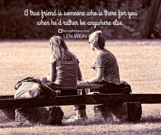 true friend quotes